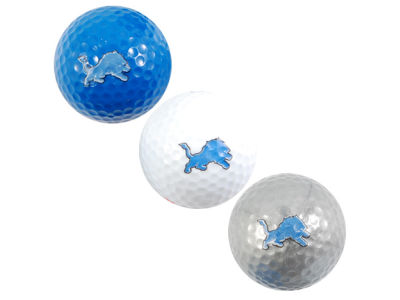 Detroit Lions Team Golf 3-pack Golf Ball Set