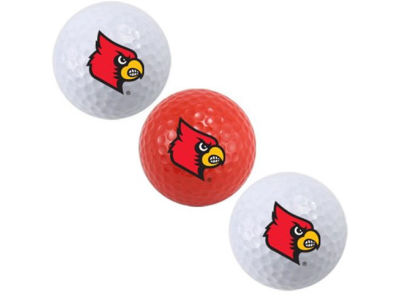 Louisville Cardinals 3-pack Golf Ball Set