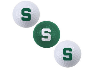 Michigan State Spartans 3-pack Golf Ball Set