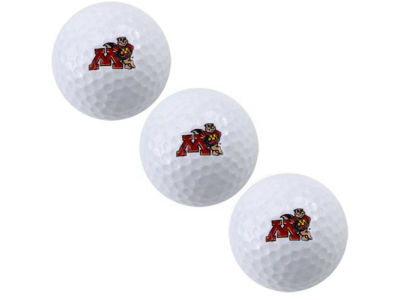 Minnesota Golden Gophers 3-pack Golf Ball Set