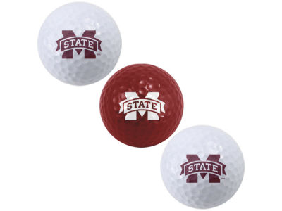 Mississippi State Bulldogs 3-pack Golf Ball Set