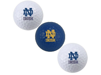 Notre Dame Fighting Irish 3-pack Golf Ball Set