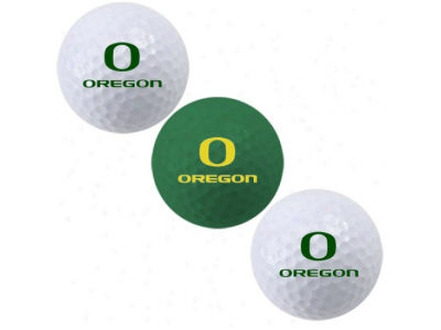 Oregon Ducks 3-pack Golf Ball Set