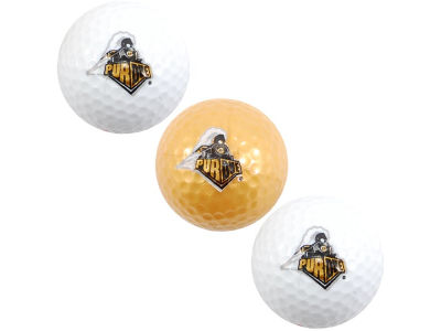 Purdue Boilermakers 3-pack Golf Ball Set
