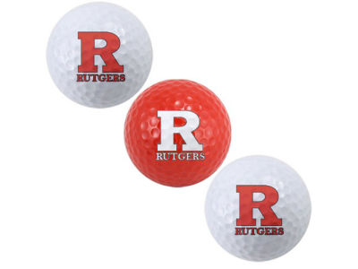 Rutgers Scarlet Knights 3-pack Golf Ball Set