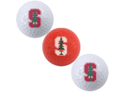Stanford Cardinal Team Golf 3-pack Golf Ball Set
