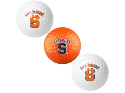 Syracuse Orange 3-pack Golf Ball Set