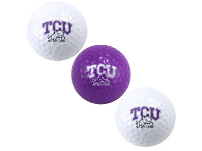 Texas Christian Horned Frogs 3-pack Golf Ball Set