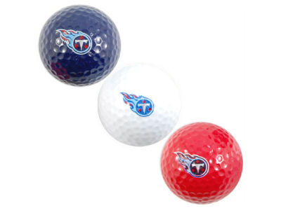 Tennessee Titans 3-pack Golf Ball Set