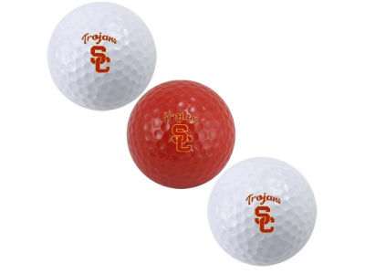USC Trojans 3-pack Golf Ball Set