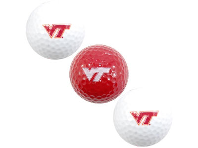 Virginia Tech Hokies 3-pack Golf Ball Set
