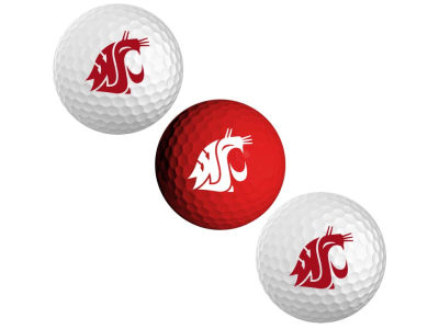 Washington State Cougars 3-pack Golf Ball Set