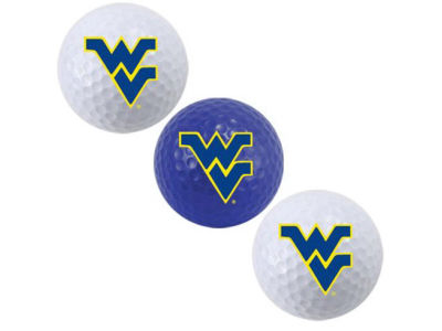 West Virginia Mountaineers 3-pack Golf Ball Set