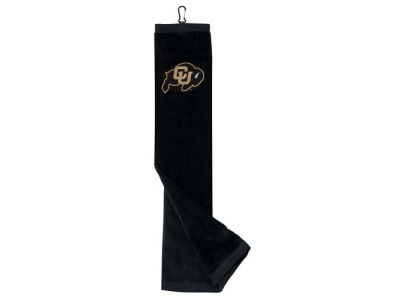 Colorado Buffaloes Trifold Golf Towel