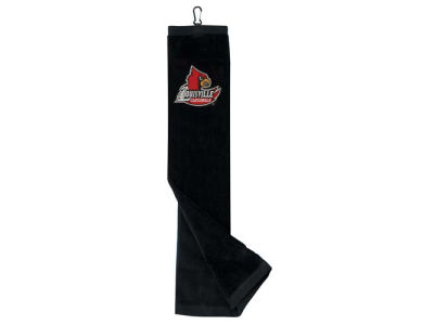 Louisville Cardinals Trifold Golf Towel