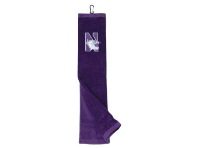 Northwestern Wildcats Trifold Golf Towel