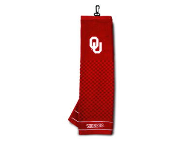 Oklahoma Sooners Trifold Golf Towel