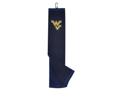 West Virginia Mountaineers Trifold Golf Towel