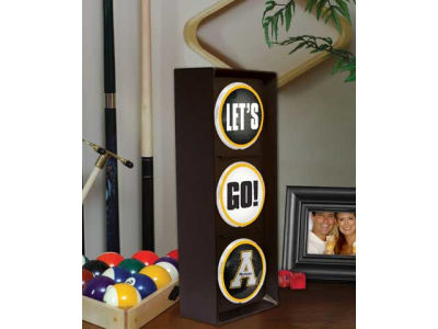 Appalachian State Mountaineers Memory Company Flashing Lets Go Light
