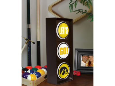 Iowa Hawkeyes Flashing Lets Go Light
