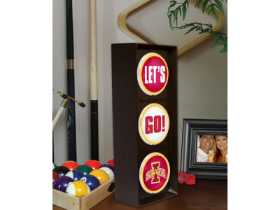 Iowa State Cyclones Flashing Lets Go Light