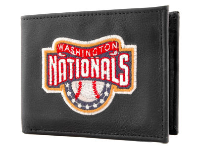 Washington Nationals Black Bifold Wallet