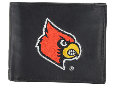 Louisville Cardinals Black Bifold Wallet