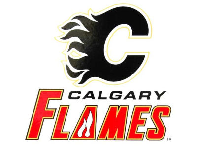 Calgary Flames Static Cling Decal