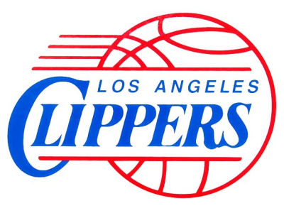 Los Angeles Clippers Static Cling Decal