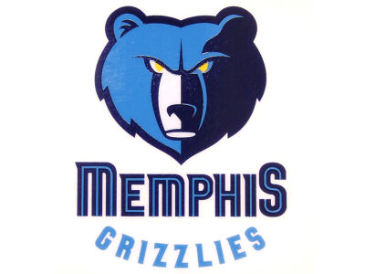 Memphis Grizzlies Static Cling Decal
