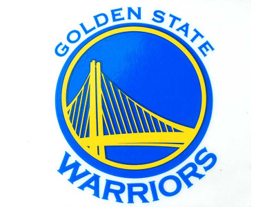 Golden State Warriors Static Cling Decal