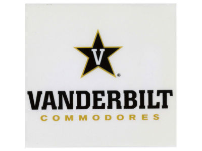 Vanderbilt Commodores Static Cling Decal