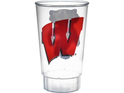 Wisconsin Badgers Single Plastic Tumbler