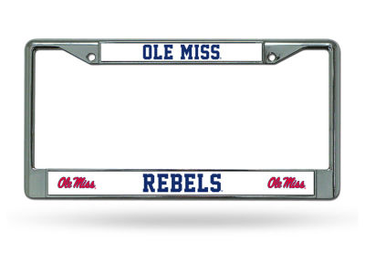 Ole Miss Rebels Chrome Frame