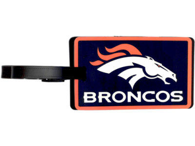 Denver Broncos Soft Bag Tag