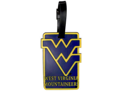 West Virginia Mountaineers Soft Bag Tag