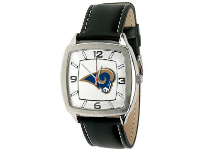 St. Louis Rams Retro Leather Watch