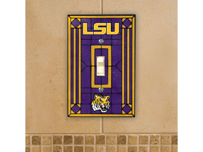 LSU Tigers Switch Plate Cover