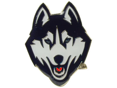 Connecticut Huskies Logo Pin