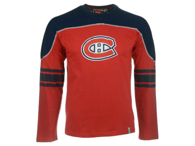 Montreal Canadiens NHL Youth CN Long Sleeve Shootout T-Shirt
