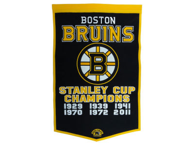 Boston Bruins Winning Streak Dynasty Banner
