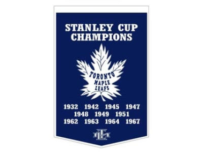 Toronto Maple Leafs Winning Streak Dynasty Banner