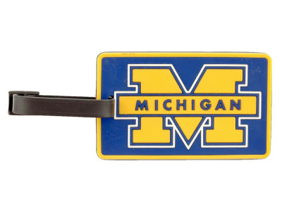 Michigan Wolverines Soft Bag Tag