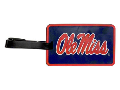 Ole Miss Rebels Soft Bag Tag