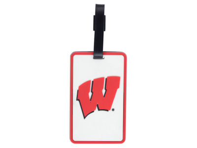 Wisconsin Badgers Soft Bag Tag