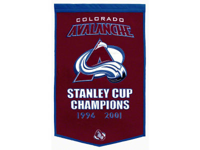 Colorado Avalanche Dynasty Banner