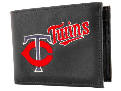 Minnesota Twins Black Bifold Wallet