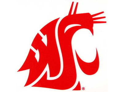 Washington State Cougars Static Cling Decal