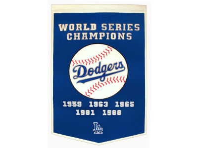 Los Angeles Dodgers Winning Streak Dynasty Banner