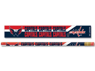 Washington Capitals 6-pack Pencils